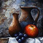 Apple and grapes - sl11 by Imre Toth (Emerico)