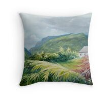 Gap of Dunloe - from the garden Throw Pillow