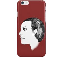 Dave Vanian The Damned Fineliner iPhone Case/Skin