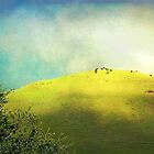 Cows on a Hill by Ellen Cotton