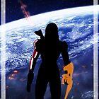Commander Shepard by taylderp