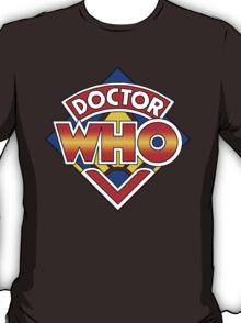 Doctor Who Diamond Logo - Colourful T-Shirt