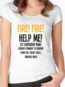 FIRE! FIRE! Women's Fitted Scoop T-Shirt