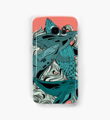 Whales Samsung Galaxy Case/Skin