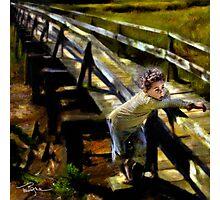 Summer Bridge Photographic Print