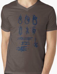 Knots Mens V-Neck T-Shirt