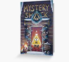 Gravity Falls Christmas Mystery Shack Greeting Card