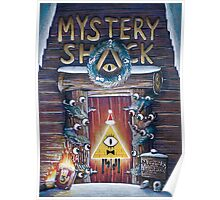 Gravity Falls Christmas Mystery Shack Poster