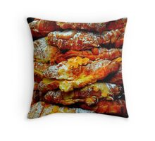 Almond Croissants Throw Pillow