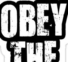 Obey The Drop Sticker
