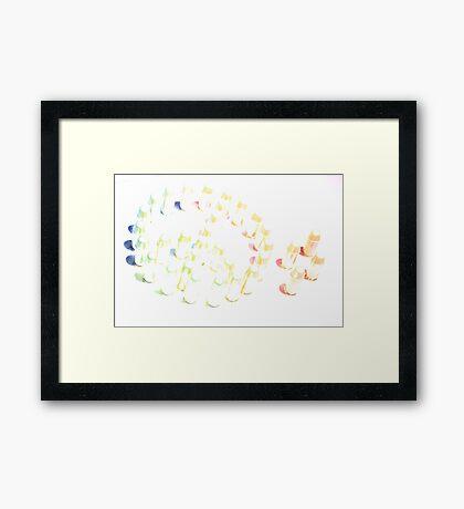 AMMO Framed Print