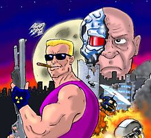 Duke Nukem: Shrapnel City by Steve  Ward