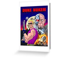 Duke Nukem: Shrapnel City Greeting Card