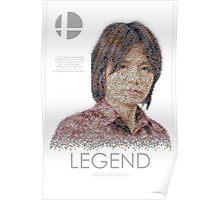 Masahiro Sakurai LEGEND by Joshua Redfearn Poster