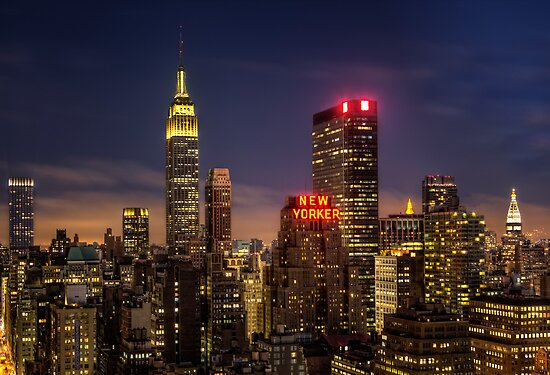 New York, New York by Yelena Rozov