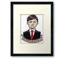 Ashens Bust Framed Print