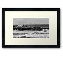 Newcastle Ocean Baths ll Framed Print