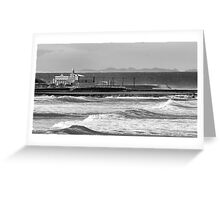Newcastle Ocean Baths ll Greeting Card