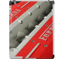 Ferrari V12 Engine iPad Case/Skin