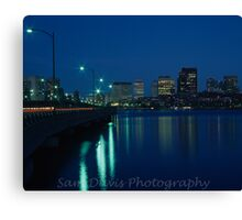 Boston Skyline #1 Canvas Print
