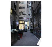 City Alley three Poster