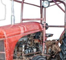 Grey Fergie Tractor  Sticker