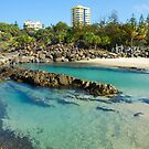 Snapper Rocks Swimming Lanes by Tim Jordan