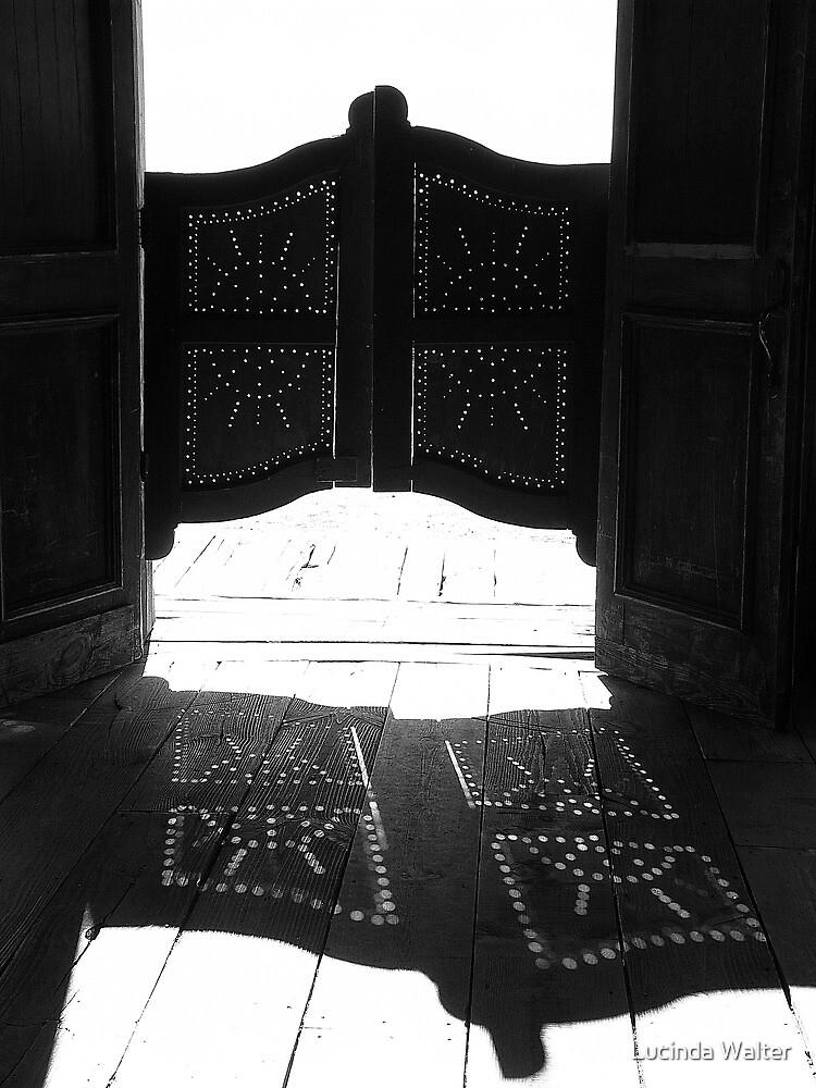Western Doors by Lucinda Walter