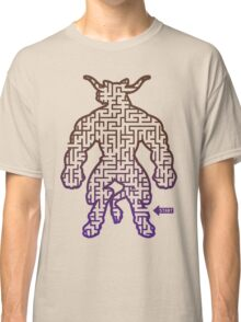 The Labyrinth in the Minotaur  Classic T-Shirt