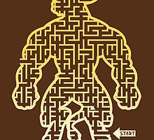 The Labyrinth in the Minotaur  by Jonah Block