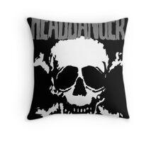 Headbanger Skull Throw Pillow