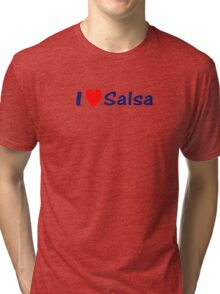 Salsa is my life t-shirt, top & sticker Tri-blend T-Shirt