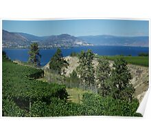 Okanagan Lake Poster