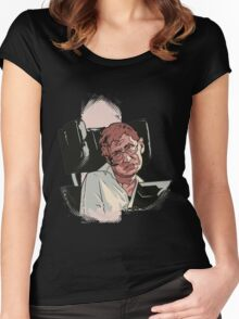 Stephen Hawking Women's Fitted Scoop T-Shirt