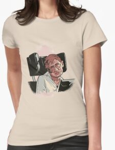 Stephen Hawking Womens Fitted T-Shirt