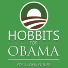 Hobbits for Obama by tripinmidair