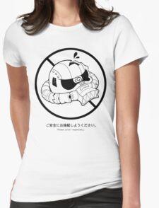 PSA (Zaku ver.) Womens Fitted T-Shirt