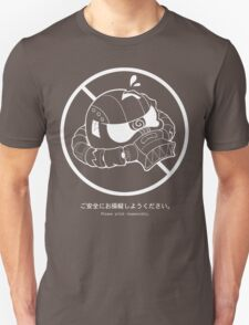 PSA (Zaku + white lines ver) Unisex T-Shirt