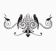 Medieval Birds by Melanie  Dooley