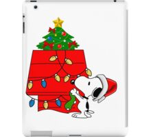 Snoopy christmas iPad Case/Skin