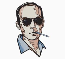 Hunter S. Thompson by Cloxboy