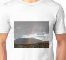 A glimpse of color in a dark land Unisex T-Shirt