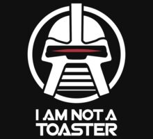 Cylon — I am not a toaster, Retro by monsterplanet