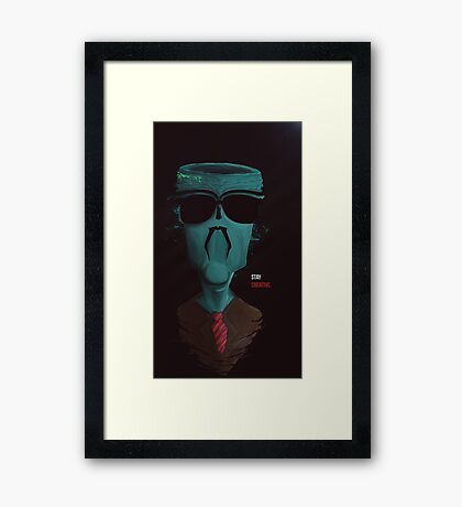 Stay Creative Framed Print