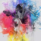 black butterflies  by artsmitten