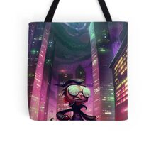 "Invader Zim Fan Art - Dib ""The Nightmare Begins"" Tote Bag"