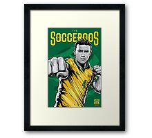 Tim Cahill World Cup Framed Print