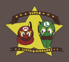 Super Lucha Hermanos! by coinbox tees