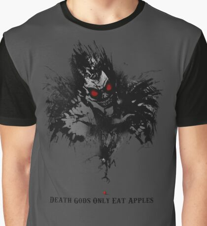 Death Gods Only Eat Apples Graphic T-Shirt