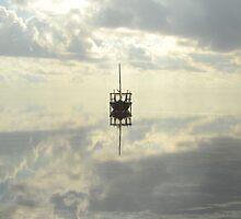 Boat in the clouds, Zanzibar island by Konstantin Zhuravlev